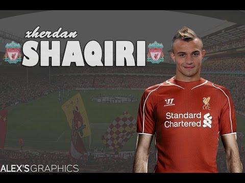 new styles 82fe5 dc52e Picture: How Xherdan Shaqiri will look in Liverpool shirt ...