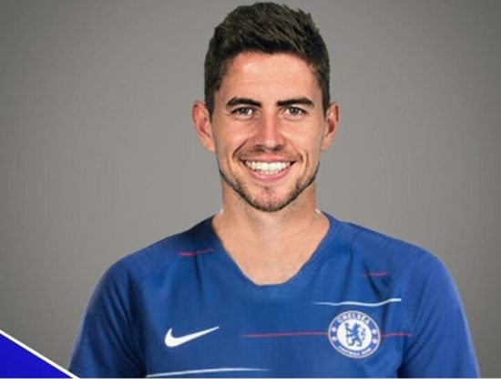finest selection 45a46 dbc8b Picture: Jorginho in Chelsea shirt - Football News Today
